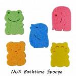 NUK Bathtime Sponge, Spon Mandi Bayi