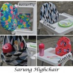 AsiBayi Highchair Cushion / Sarung