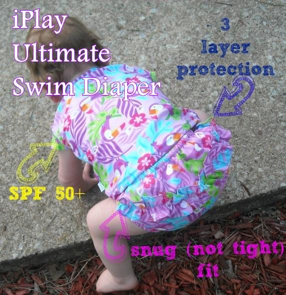 iPlay Ultimate Swim Diaper