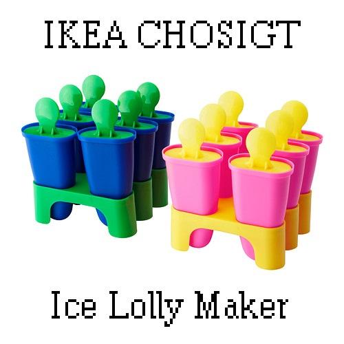 ikea chosigt ice lolly maker