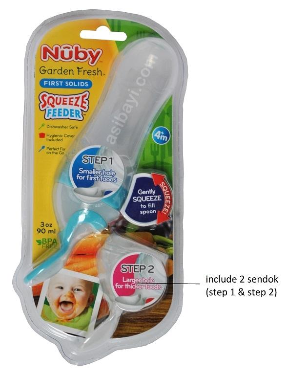 nuby botol sendok 1
