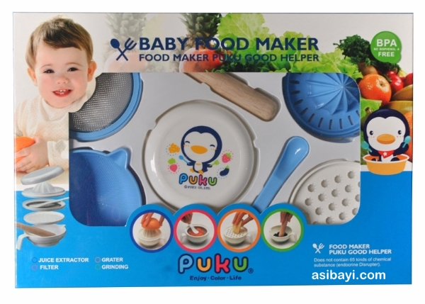 puku food maker packaging