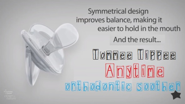 tommee tippee anytime orthodontic soother