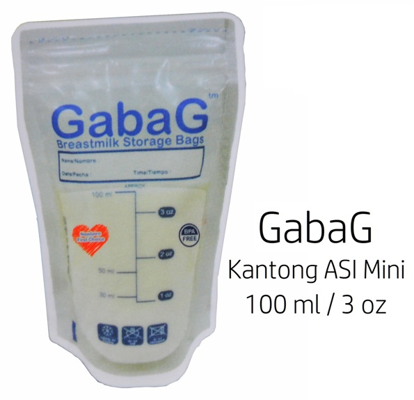 Gabag Kantong ASI Mini 100ml