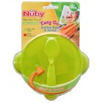 Nuby Easy Go Suction Bowl Spoon