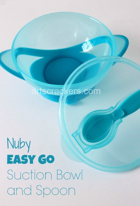 Nuby Easy Go Suction Bowl and Spoon 2