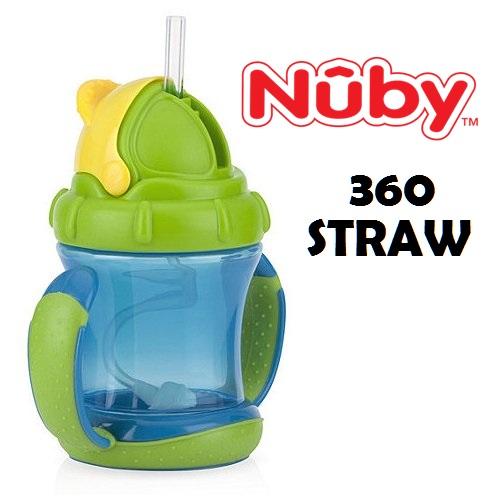 Nuby 360 Straw Nuby 360 Straw Blue