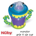 Nuby Monster Grip Sip Cup