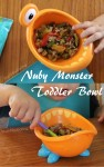 Nuby Monster Toddler Bowl