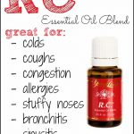 Young Living RC, Essential Oil utk Masalah Pernafasan