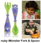 Nuby iMonster Fork & Spoon