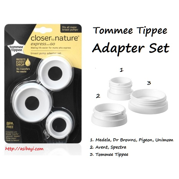Tommee Tippee Adapter Set Express & Go