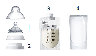 Tommee Tippee Pouch Bottle Express & Go (2)