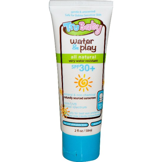 TruBaby Water Play SPF 30 Sunscreen