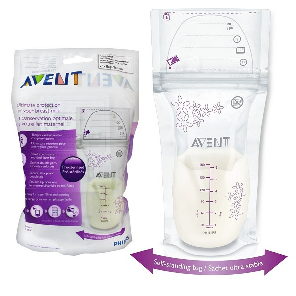 avent breastmilk storage bag (kantong asi)