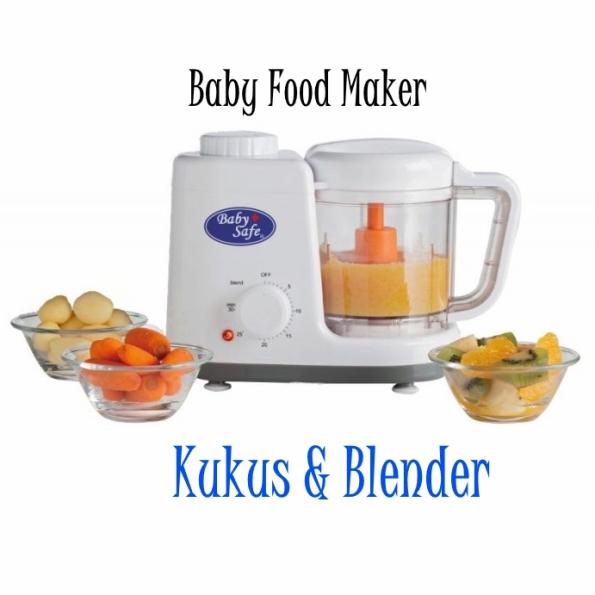 Babysafe Baby Food Maker Steamer Dan Blender Di Asibayi