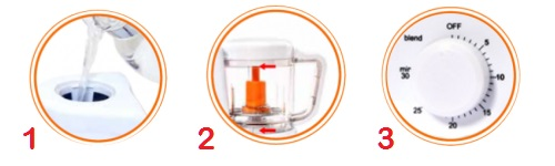babysafe baby food maker use