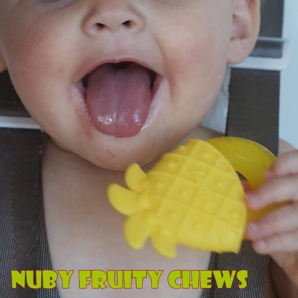 nuby fruity chews in use