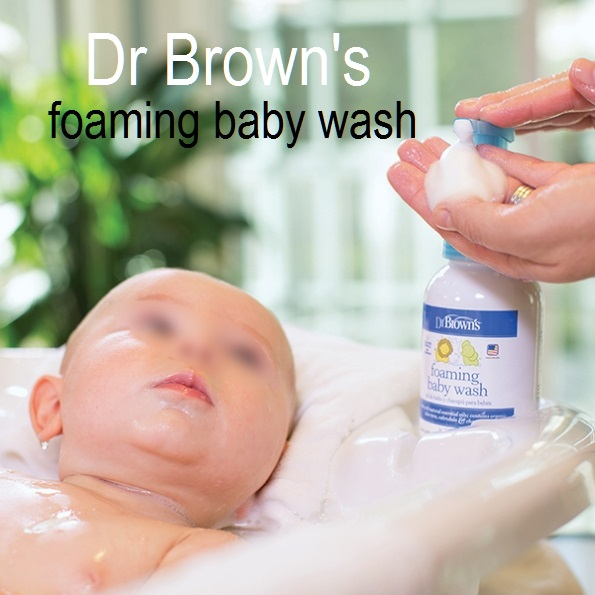 Dr Browns Foaming Baby Wash Use 1