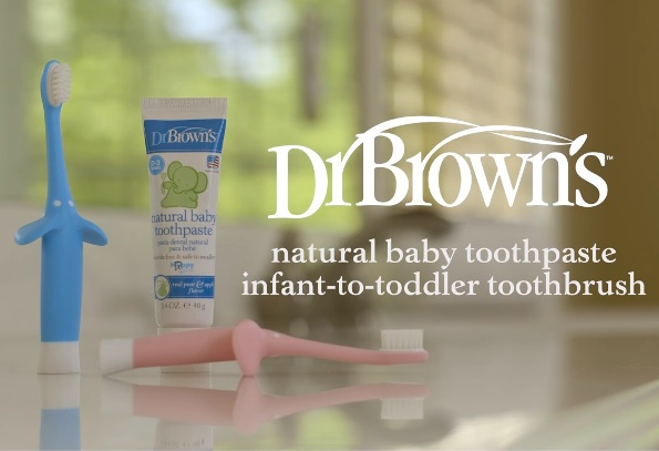 Dr Browns Infant to Toddler Toothbrush