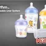 Nuby Rhythm, Botol dengan Disposable Liner