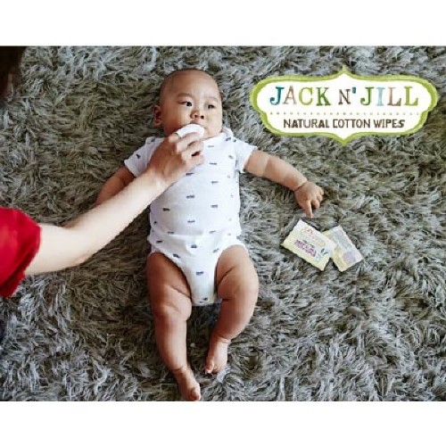 Jack n Jill Natural Baby Gum Tooth Wipes 2
