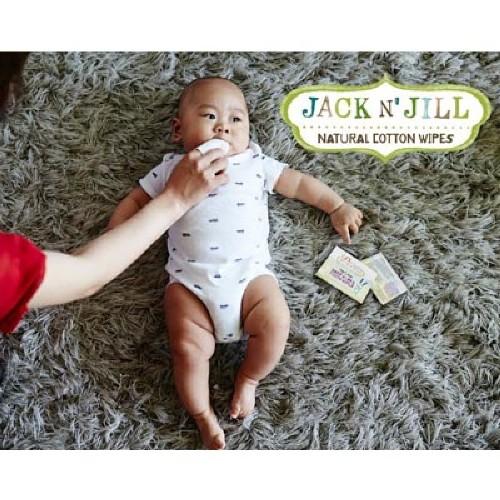 Jack n Jill Natural Baby Gum Tooth Wipes 2