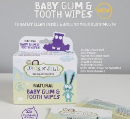 Jack N Jill Natural Baby Gum Tooth Wipes
