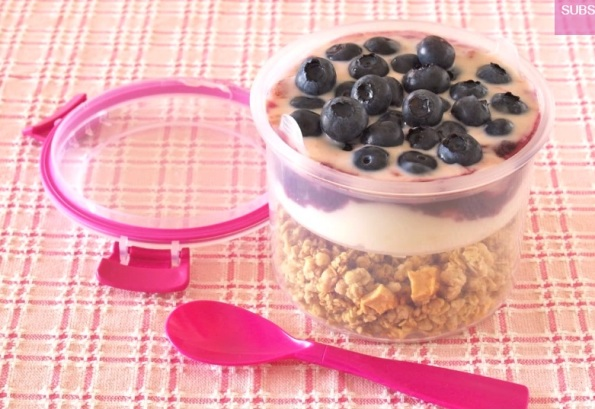 sistema to go breakfast (pink)