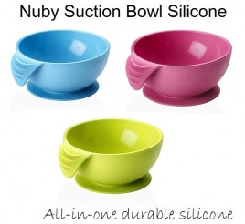 Nuby Suction Bowl Silicone