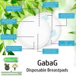 GabaG Disposable Breastpads, Penyerap ASI