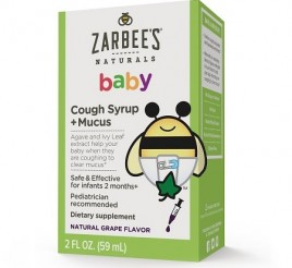 Zarbee's Naturals Baby Cough Syrup + Mucus
