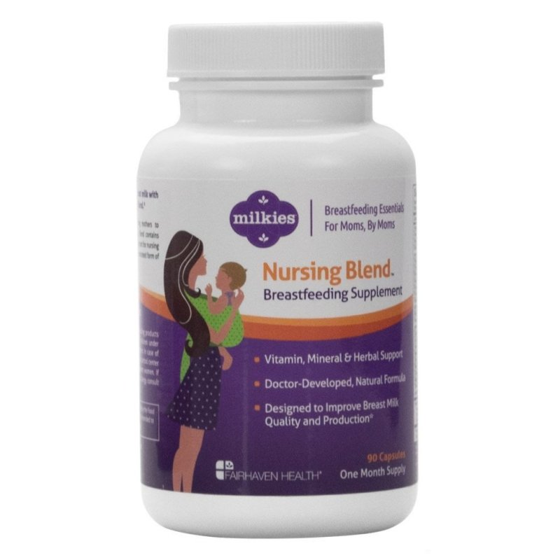 milkies nursing blend breastfeeding supplement