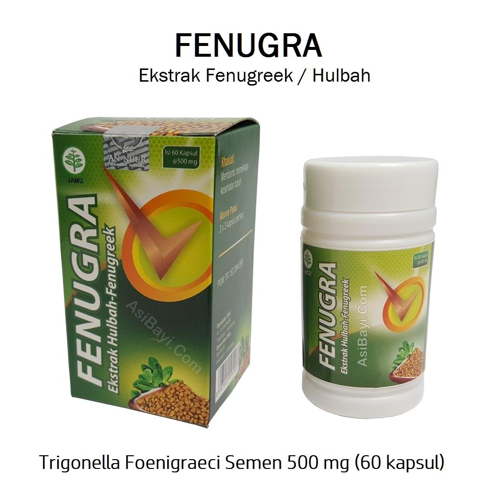 Fenugra Fenugreek 500mg Kapsul