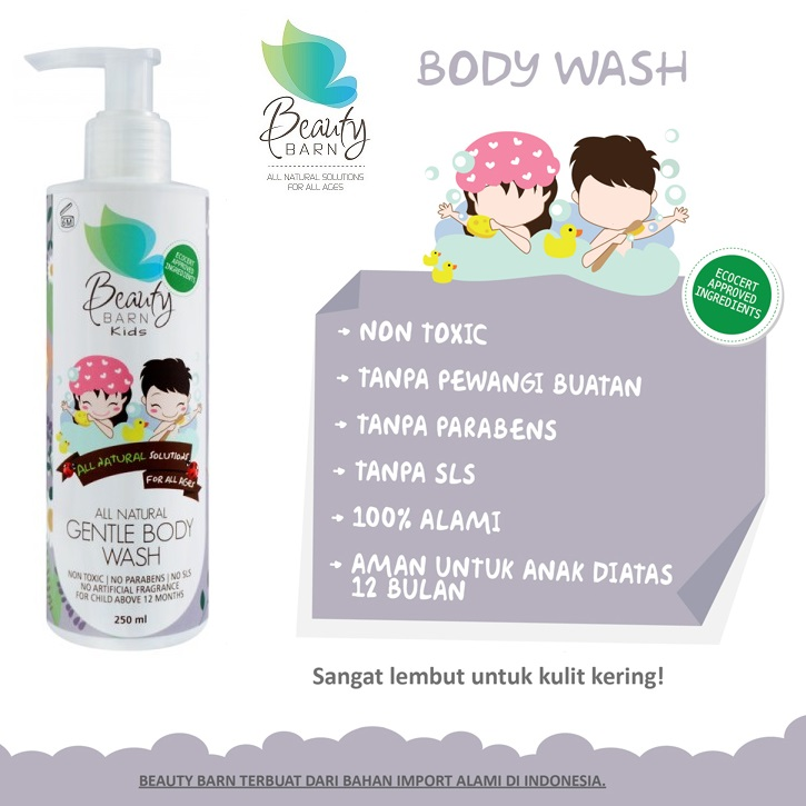 Beauty Barn Kids Gentle Body Wash