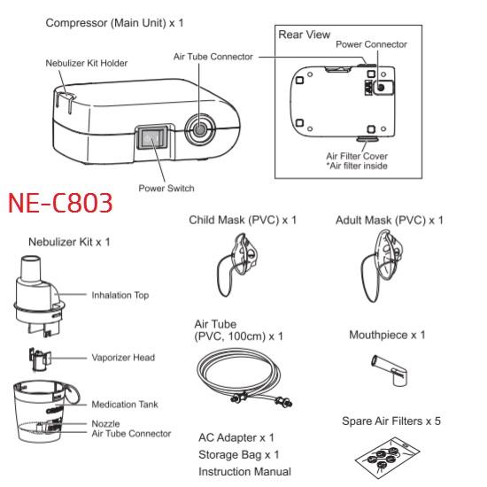 Omron NE-C803 Part