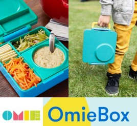 Omielife Omiebox Insulated Hot & Cold Kids Bento Box