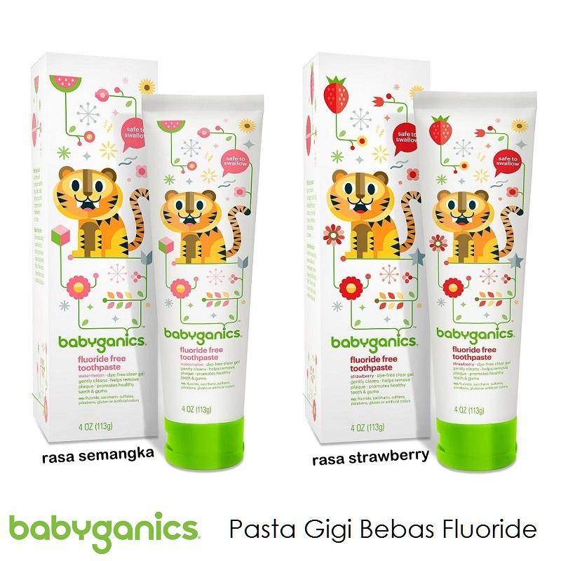 babyganics fluoride free toothpaste
