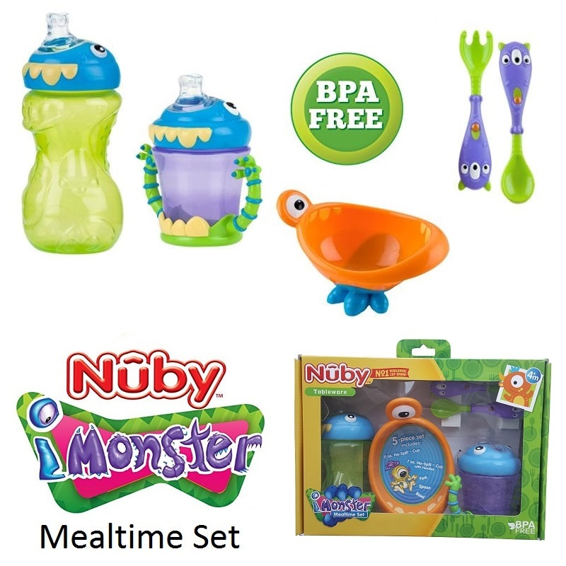 Nuby iMonster Mealtime Set