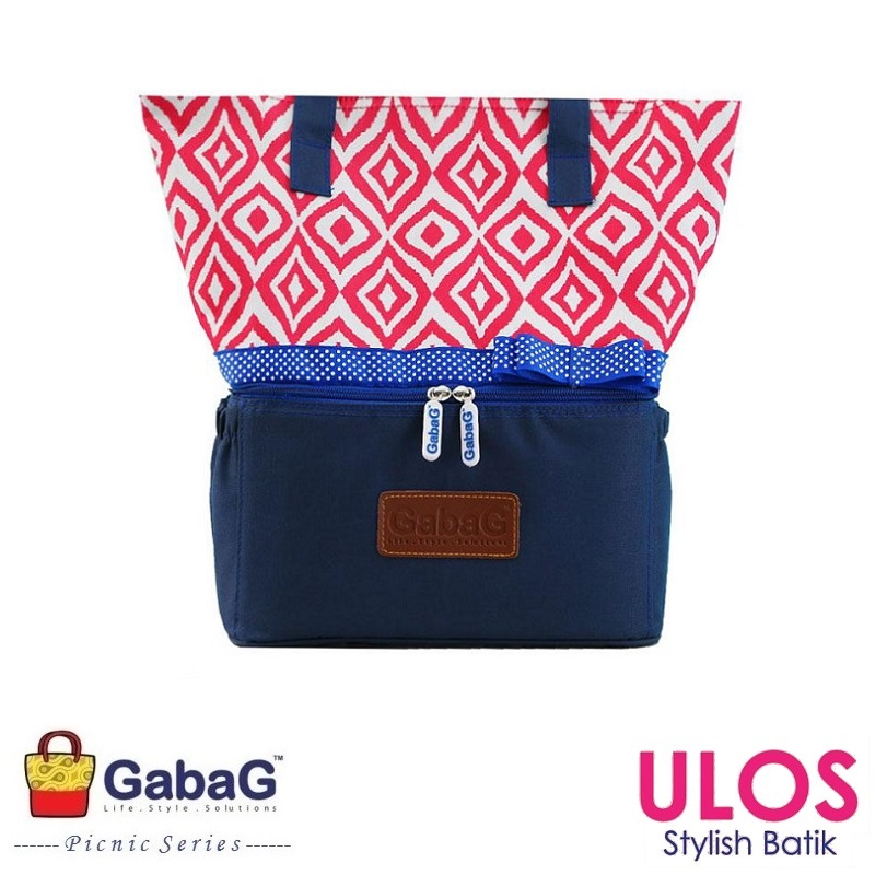 GabaG Ulos Cooler Bag