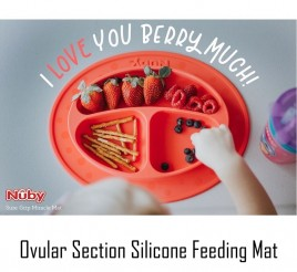 Nuby Ovular Section Silicone Plate