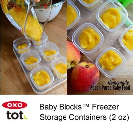 Oxo Tot Baby Blocks 60ml Freezer Storage Containers