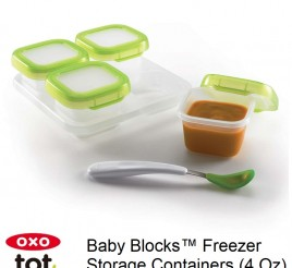 Oxo Tot Baby Blocks 120ml Freezer Storage Containers
