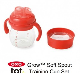 Oxo Tot Grow Soft Spout Training Cup Set - 6 oz