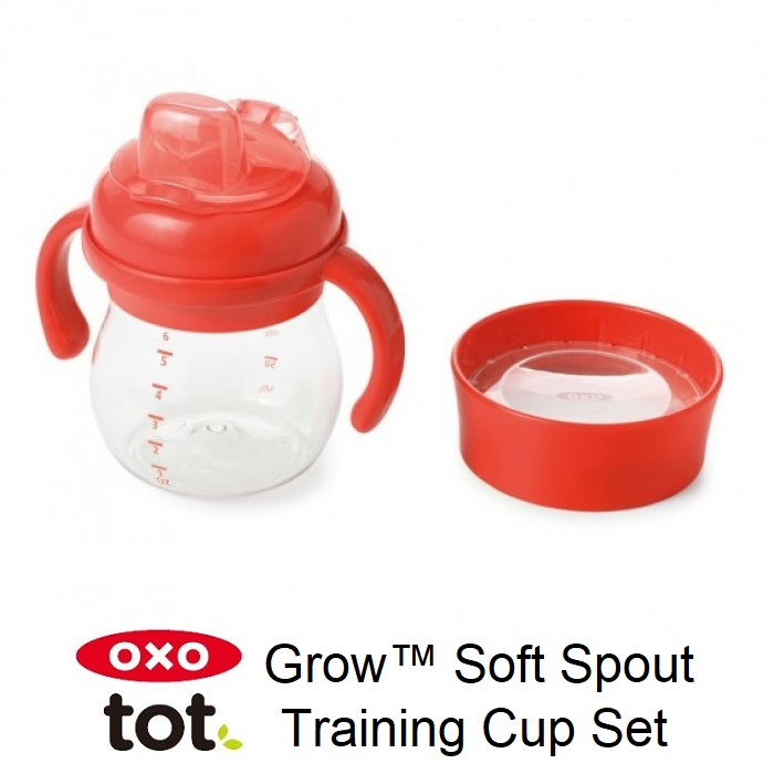 Oxo Tot Grow Soft Spout Training Cup Set