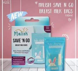 Malish Kantong ASI Save 'N Go Breatmilk Bags