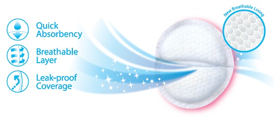 Pigeon Breastpads Honeycomb Features