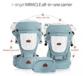 I-Angel Miracle 4in1 Baby Carrier Plus Hipseat