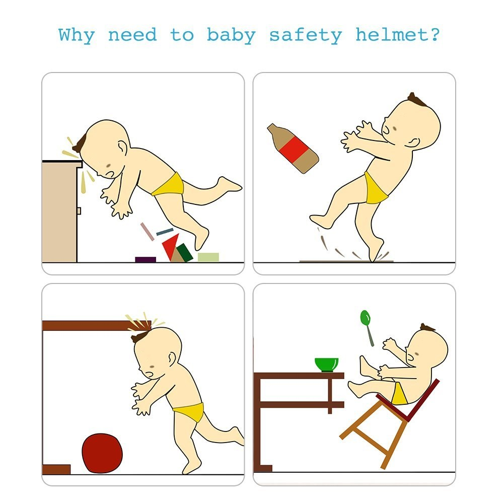 Why We Need Baby Safety Helmet