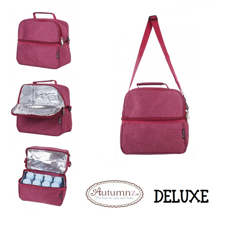 Autumnz Deluxe Cooler and Breastpump Bag